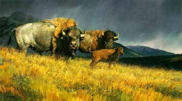 Hunting Oil Painting 0033